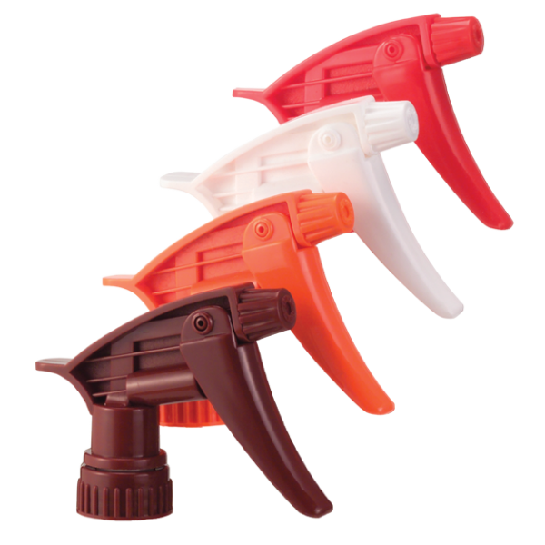 Trigger Sprayer, Solid Orange, 9 1/4″