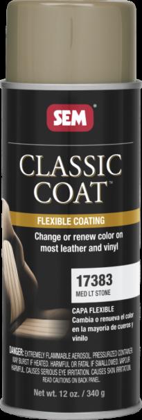 Classic Coat Med. Lt. Stone