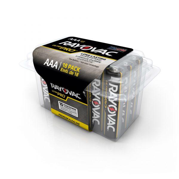 AAA Alkaline Battery 18 PK