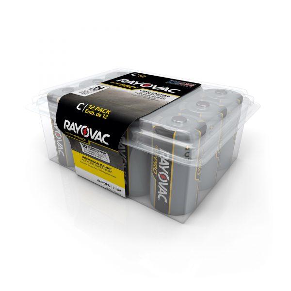 C Alkaline Battery 12 pk.