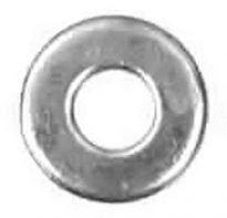 3/16 x 3/4 Od Fender Washer – Zinc 100 pcs.