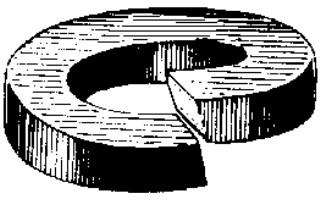 3/8 High Alloy Split Lock Washer – Zinc/Yellow 100 pcs.