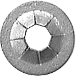 Push-On Retainer 3.2mm Stud 9.5mm Od -Zinc 100 pcs.