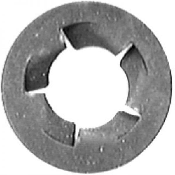 Pushnut Bolt Retainer M6.3-1.0 12.7mm Od -Zinc 100 pcs.