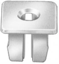 Headlight Bezel Nylon Nut #6 Screw Size 50pcs (11970-P, 1370853)
