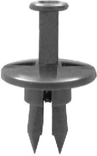 GM Push-Type Retainer 1″ Head Dia. 3/4 Length 15 pcs.