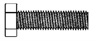 Hex Head Cap Screws 1/4-20 x 3/4″ 18-8 50 pcs.