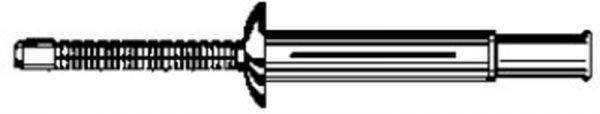 Klamp Tite Rivet 1/4 Dia. 3/64-1/4 Range 25 pcs.
