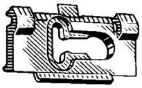 Deck Lid Moulding Clip 25 pcs.