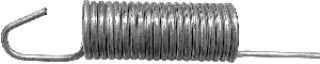 Universal Spring 8-1/2 Length 3/32 Wire Size 10pcs