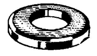 M14 Flat Washer Zinc Din125 50 pcs.