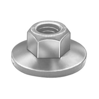3/8-16 Free Spinning Washer Nut 7/8Od 25 pcs.