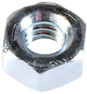 Gr 5 Hex Nut 7/16-20 Sae Zinc 100 pcs.