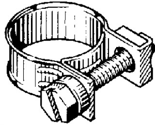 TYPE G MINIATURE HOSE CLAMP 10.5 – 13MM