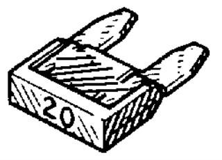 Mini Fuse – 25 Amps 5pcs