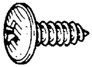 Phillips Truss Head Tap Screw M4.2 x 12mm