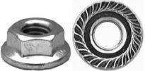 Spin Lock Nut w/Serration. M6-1.0 14mm Od 50 pcs.