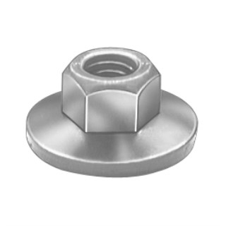 #10-32 Free Spinning Washer Nut 3/8 Od 100 pcs.