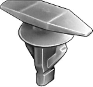 Honda Weatherstrip Retainer 10mm Stm Lgth 25 pcs.