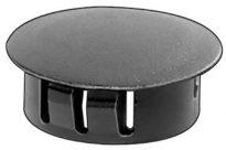 Black Nylon Locking Hole Plug 1/2″ 50 pcs.