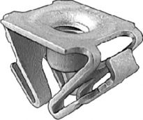 GM Front Fndr Ext/L.P. Bracket Retainer Nut M6-1.0 10 pcs.