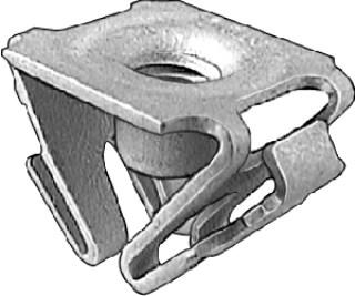 GM Front Fndr Ext/L.P. Bracket Retainer Nut M6-1.0 10 pcs.