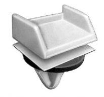 GM Moulding Clip 9/16 Stm Lgth Fits 7/16 Hole 15 pcs.