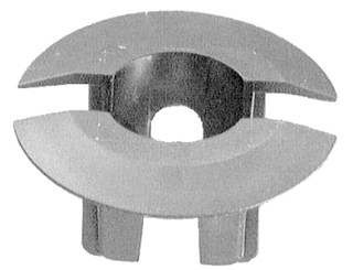 GM Front Air Deflector Grommet 13mm Stm Lgth 25 pcs.