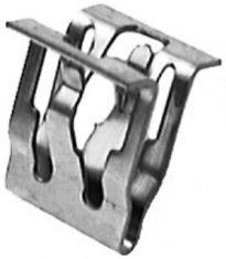 GM Garnish Moulding Fastener 1/2 Wdth 5/8 Height 25 pcs.