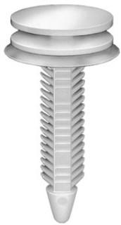 GM Door Trim Panel Retainer White Nylon 25 pcs.