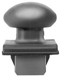 Ford Front End Moulding Retainer 3/8 Stm Lgth 10pcs