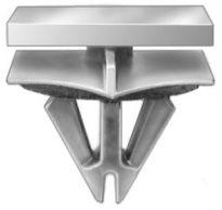 GM Rocker Panel Moulding Clip 9/16 Stm Lgth 15 pcs.