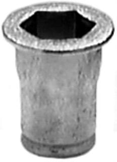 Special Hex Insert M5-.8 .5Mmm-3.3mm Grip 10mm hd dia 15 pcs.