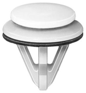 Moulding Clip White Nylon – Suzuki 10 pcs.
