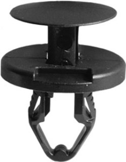GM Push-Type Retainer Black Nylon