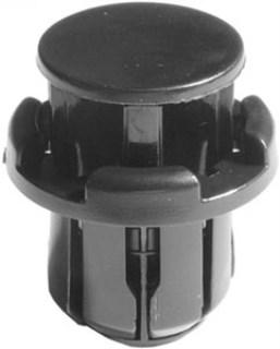 GM Push-Type Retainer – Black Nylon 10 pcs.