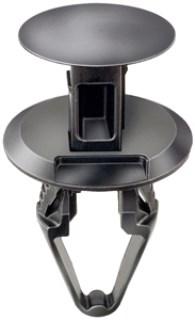 GM Push-Type Retainer – Black Nylon 25 pcs.