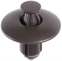 Nissan Push-Type Retainer Black Nylon 15 pcs.