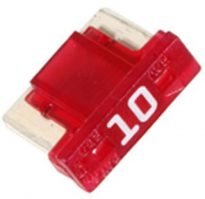 Low Profile Mini Fuses 10 amp 5 pcs.