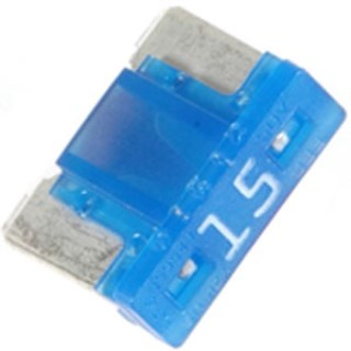 Low Profile Mini Fuses 15 amp 5 pcs.