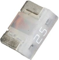 Low Profile Mini Fuses 25 amp 5 pcs.