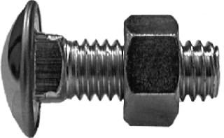 Nylon Expansion Rivet 1/4 Hole Dia. 2-3/16 Length