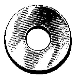 SAE Flat Washer 3/8 Bolt Size 13/32 I.D. 13/16 O.D. 100 pcs.