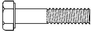 7/16-14 X 4 GR. 8 CAP SCREW ZINC 25 pcs.
