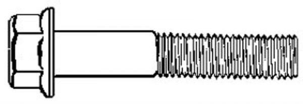 5/8-11 X 1 GR.5 CAP SCREW ZINC 25 pcs.