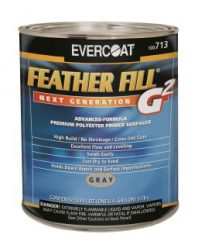 Feather Fill Gallon, Gray
