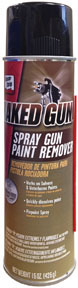 Naked Gun Spray Gun Paint Remover Aerosol