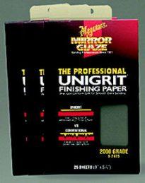 1500 Grit Finishing Paper 25 pcs.