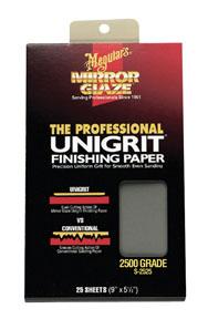 2500 Grit Finishing Paper