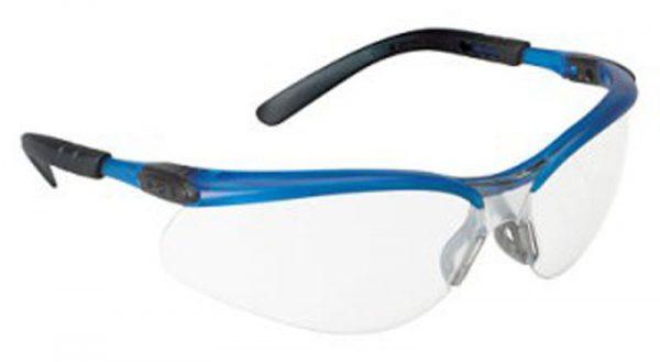 Blue Frame Safety Glasses